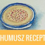 Humusz (csicseriborsó krém) recept