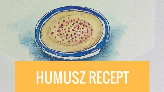 Humusz (csicseriborsó krém) recept házilag
