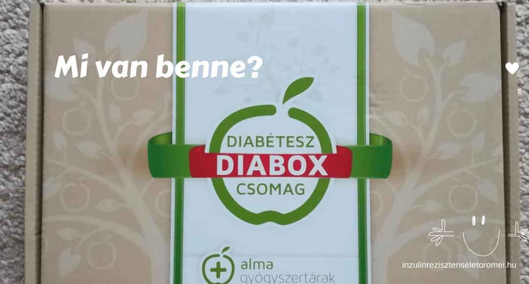 diabox csomag tartalma