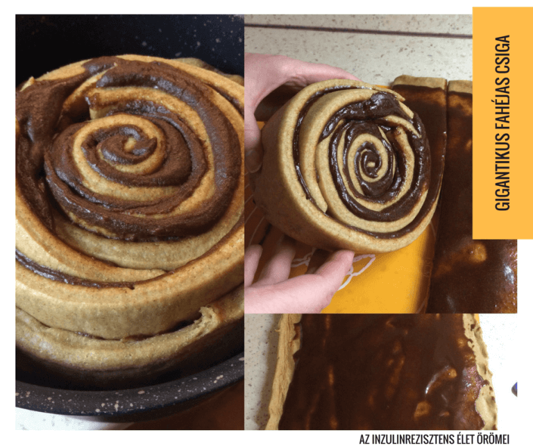 gigantikus fahéjas csiga recept
